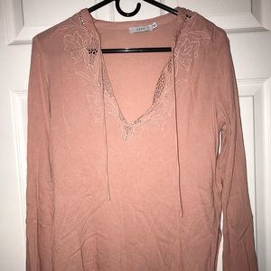 Nordstrom Lush Blush Long Sleeve Top